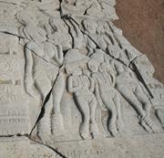 Laywomen  (panel below  Figure 14 ), mid-1st century  bce . Kanaganahalli, ...