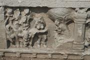 Māyā presents the infant Śākyamuni , early 3rd century  ce . Northern  āyak...