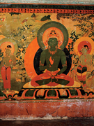Amoghasiddhi, west end of <b>south</b> wall of Akaniṣṭha Shrine (3.8), first half ...