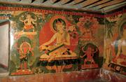 Amoghapāśa and retinue figures (Bhṛkutī, Ekajaṭā, Rakta-Amoghapāśa, and Hay...