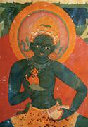 Ekajaṭā (detail of  Figure 22 , lower right). Photograph: <b>author</b>.   Figure ...