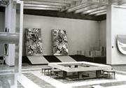 View of Japanese pavilion gallery, Thirty-Fourth <b>Venice</b> <b>Biennale</b>, 1968. Cou...