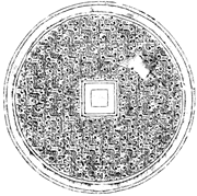 <b>Rubbing</b> of the Guokeda M4 mirror illustrated in  Figure 5 . From Changsha S...
