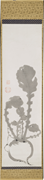 Itō Jakuchū (Japanese, 1716–1800),  Turnip , eighteenth century. Hanging sc...