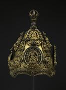 Vajracarya's Ritual Crown , Nepal (Kathmandu Valley), Early Malla period, t...