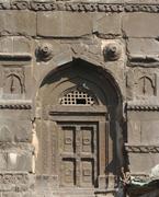 <b>Stone</b> doorways to the memorial attributed to Maloji Bhonsale, Ellora, ca. 1...
