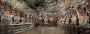 Baodingshan cave 29 (Cave of Perfect Enlightenment, <b>Yuanjuedong</b>), Dazu Coun...