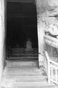 Exterior, Baodingshan <b>cave</b> 29 (<b>Cave</b> of Perfect Enlightenment), Dazu County,...