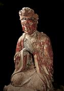 Kneeling bodhisattva, Baodingshan <b>cave</b> 29 (<b>Cave</b> of Perfect Enlightenment), ...