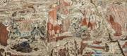 Scenes from the  Gaṇḍavyūha , northwest wall, Baodingshan <b>cave</b> 29 (<b>Cave</b> of ...