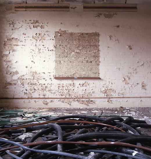 Upper floor room, Block G. Photo: Gair Dunlop