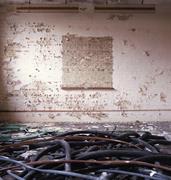 Upper floor room, Block G. <b>Photo</b>: Gair Dunlop   Figure 6. Upper floor room,...