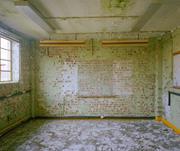 Upper floor room, Block G. <b>Photo</b>: Gair Dunlop   Figure 7. Upper floor room,...