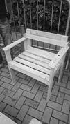 Chair made by Brother Four, April 9, 2015. <b>Photo</b> by author   Figure 6. Chai...
