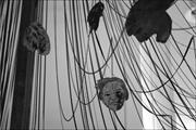 Nancy Spero,  Maypole/Take No Prisoners  (detail)  in situ , 52nd Venice Bi...