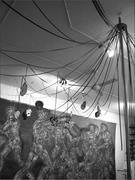 Studio of Nancy Spero and Leon Golub, Greenwich Village, New <b>York</b>, 2007, wi...