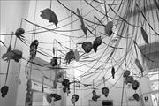 Nancy Spero,  Maypole/Take No Prisoners  (detail), Italian Pavilion, 52nd V...