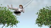 Claudia <b>Hart</b>,  The Swing , 2006. Three-channel animation, one of three chan...