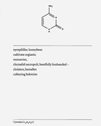 "<b>Christian</b> <b>Bök</b>, ""Cytosine"" from  The Xenotext: Book 1 . Toronto: Coach House..."