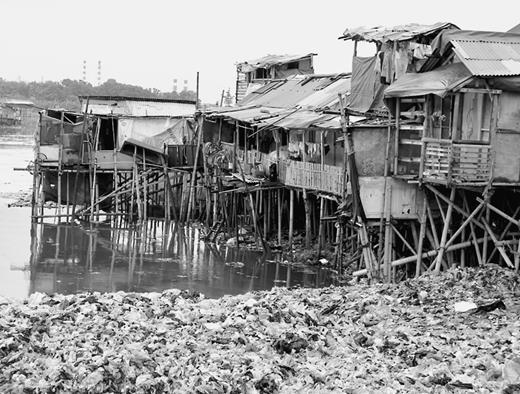 The Muara Baru neighborhood. Photograph by the author, 2010