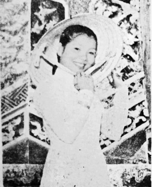 An unidentified photo of a Vietnamese woman (K. Yu 1966: 217)