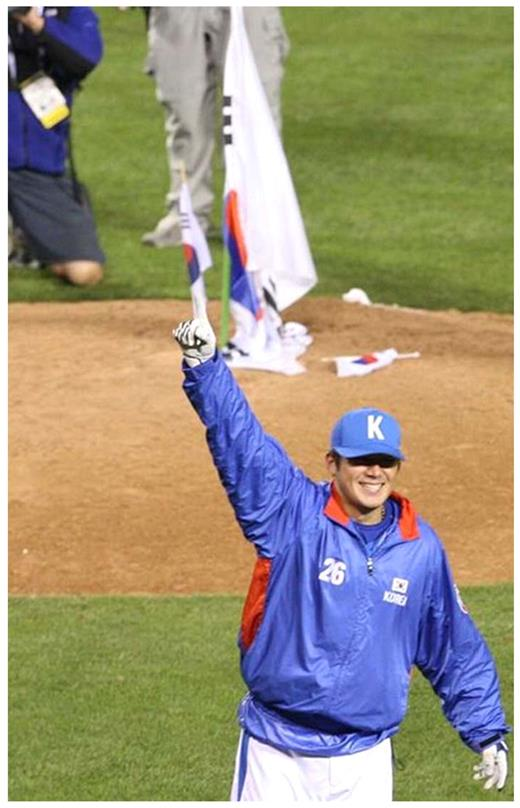 "In the first World Baseball Classic in March 2006, Korean players literally ""put up Taegeuk'ki at the heart of the U. S. A,"" after they beat Japan twice at Anaheim. Surprisingly, this clearly offensive action was hailed in Korea"