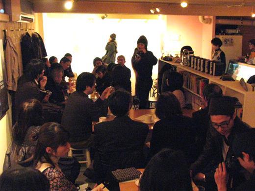 Science café arranged by Café Scientifique Tokyo