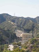 Eagle Rock Substation near Pasadena, California. The transmission <b>lines</b> fro...