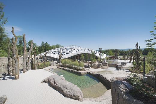 The Kaeng Krachan Elephant Park. Courtesy of Zoo Zürich, picture by Jean-Luc Grossmann.