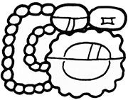The Itza Emblem Glyph <b>on</b> Motul de San José Stela 2. Redrawn after Tokovinin...