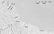 The <b>Amazon</b> delta and the eastern Guianas (digital map by author)   Figure 1...