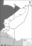 Past reconstructions of the Ch'orti' linguistic <b>frontier</b> in western Hondura...