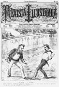 <b>Illustration</b> by Angelo Agostini from the January 1887 cover of  Revista Ill...