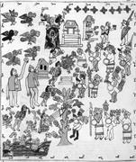 Bernardino de Sahagún,  Primeros memoriales , 1558–61, Real Biblioteca del ...