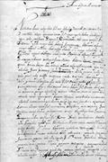 The case against Juan Ramos, 1661. AHJO, Villa Alta Criminal, leg. 4, <b>exp</b>. ...