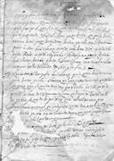 Opening <b>page</b> of the case against Pascual García, 1703. AHJO, Villa Alta Cri...