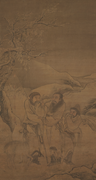 Anonymous, formerly attributed to <b>Liu</b> Guandao 劉貫道 (act. 1279–1300),  The Te...