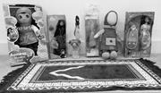 Islamic dolls, 2014. Private <b>collection</b>   Figure 1. Islamic dolls, 2014. Pr...