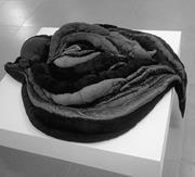 Naʿama Snitkoff-<b>Lotan</b>,  Costa de-hayyuta 2 , 2011. Hand-stitched cloth pill...