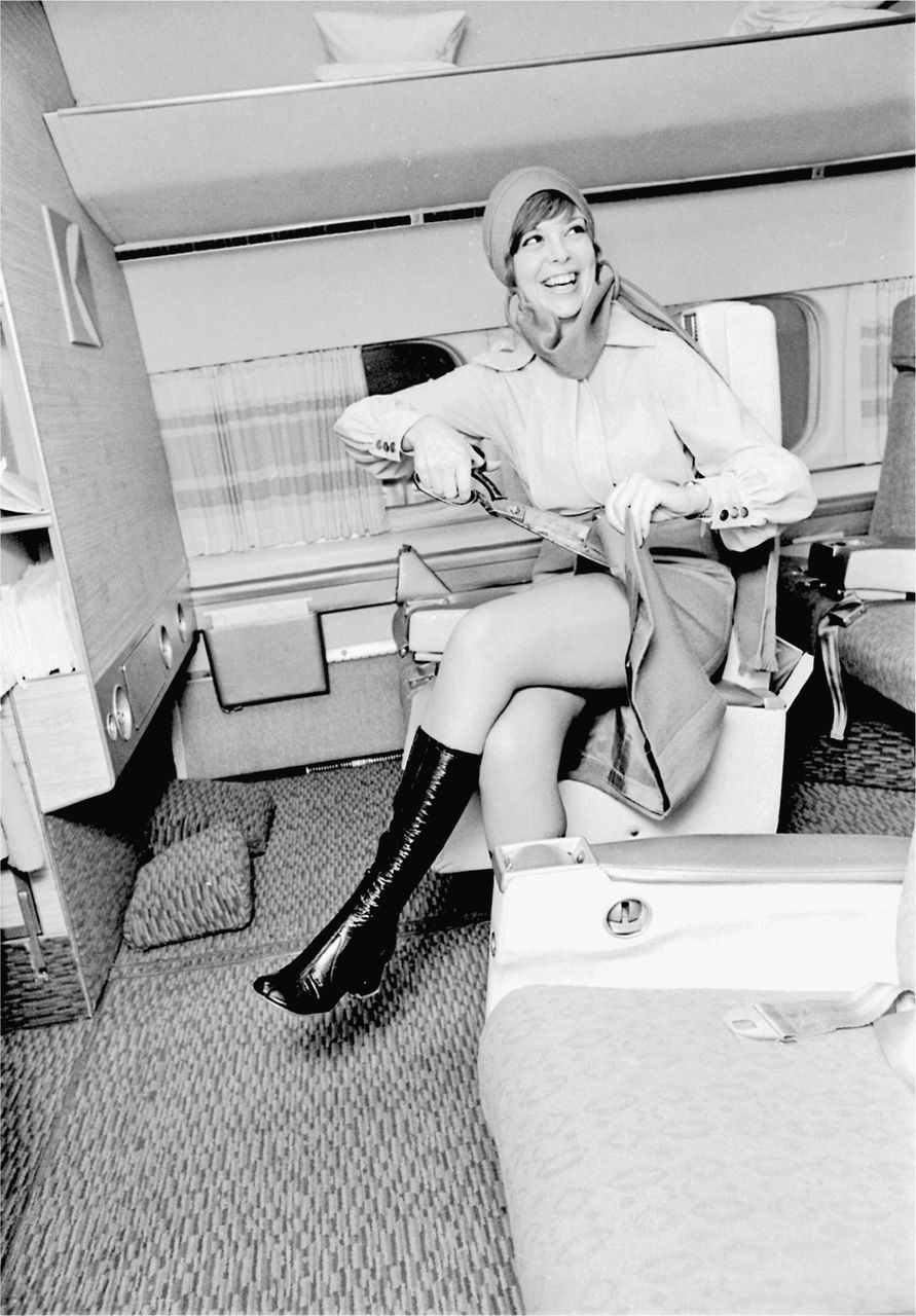 """Thigh in the Sky"""": Canadian Pacific Dresses Its Female Flight ..."""