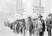 <b>Labor</b> union political march during Operation Dixie. M. H. Ross Papers, L200...