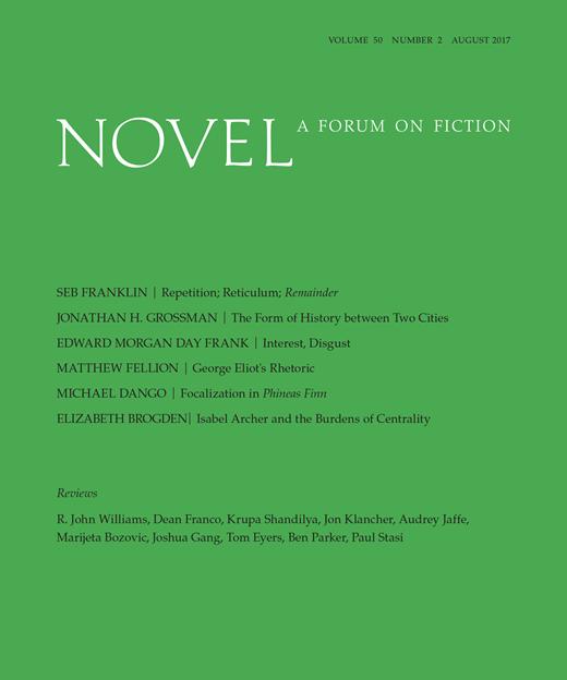 Interest, Disgust | Novel | Duke University Press