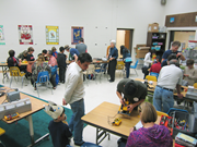 Fixit Clinic at the Lawrence Hall of <b>Science</b>, Berkeley, California, on Nove...