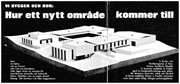 """""""We Build and Live: How a New Area Comes to Be,""""   Din egen stad  (1965) . ..."""
