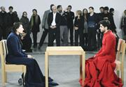 "Marina Abramović, ""The Artist is Present."" Performance, three months, the M..."