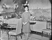 Video screen grab of American first lady Jacqueline Kennedy (1960–63) durin...
