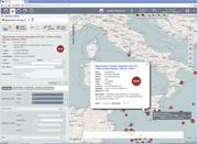 An example of the kind of screened interface that EUROSUR is meant to enabl...