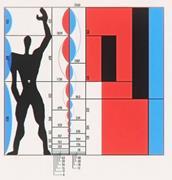 "Le Corbusier, ""Modulor,"" 1955. © FLC/ADAGP, Paris/Artists Rights Society (A..."