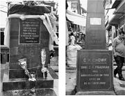 Monuments of <b>assassination</b>   Figure 5. Monuments of <b>assassination</b>