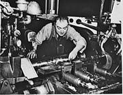 Herbert Rudolph James, Machinist, Shell Finish Department, <b>National</b> Tube Co...